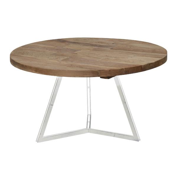 Round Coffee Table White So170164 Lemon Lime